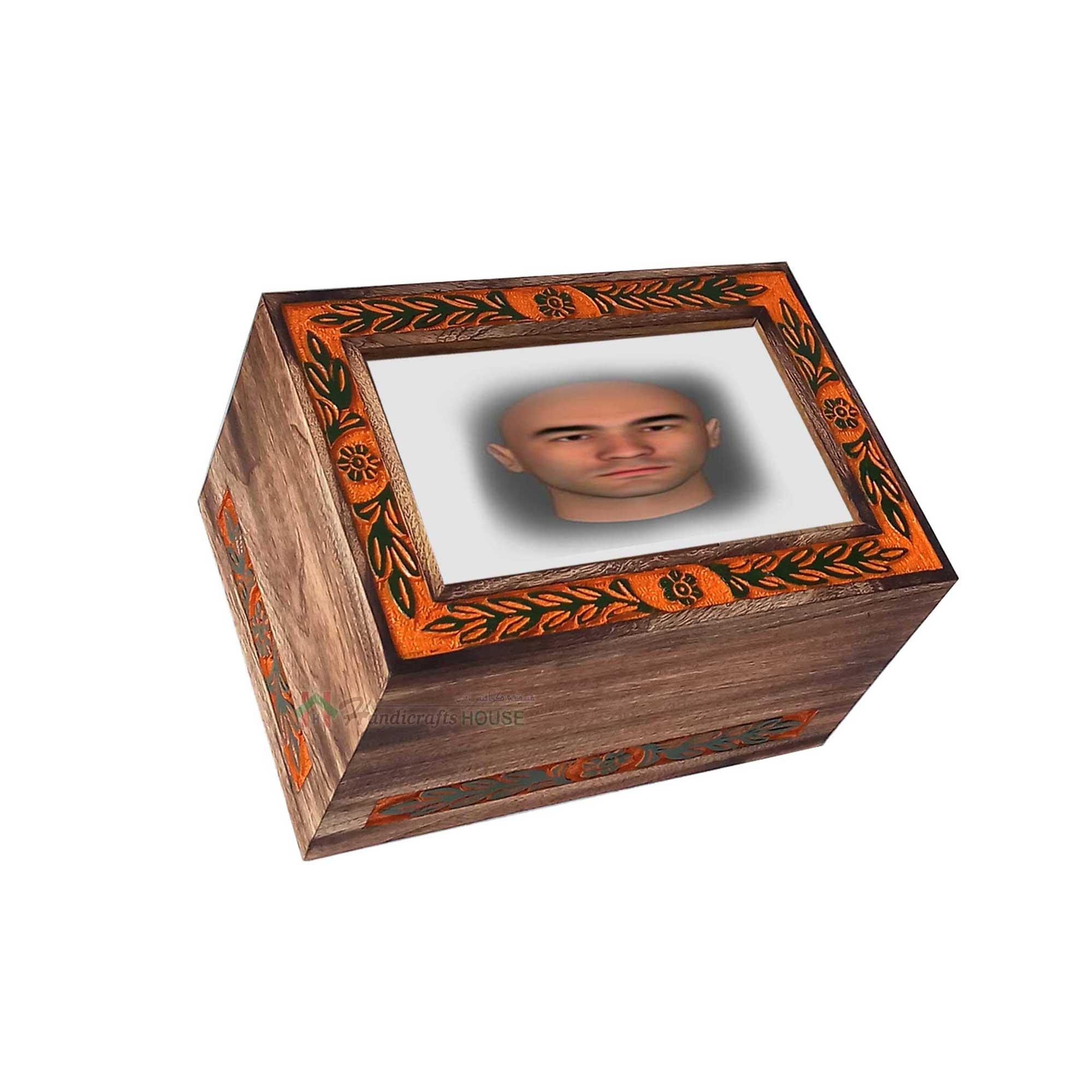 Urns for Human Ashes, Pet Cremation Urn, Wooden keepsake box