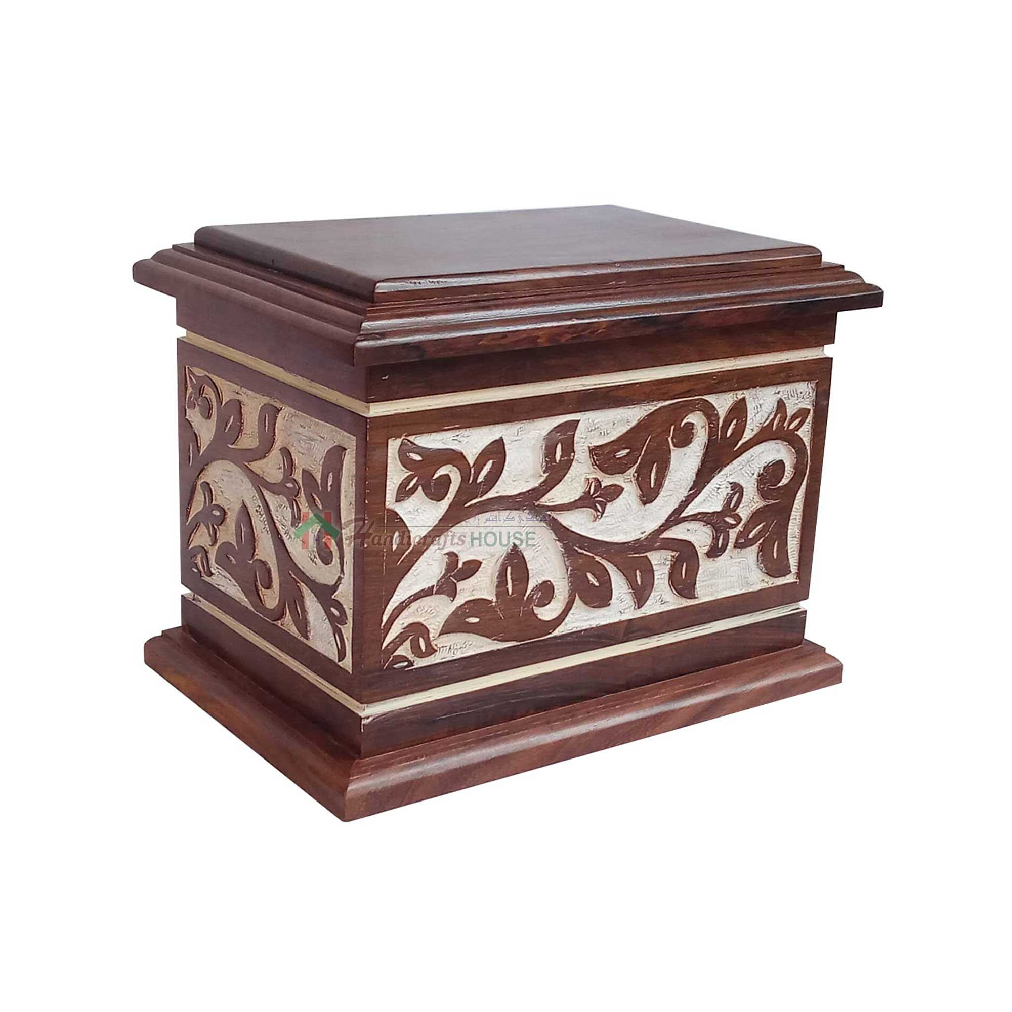 Burial Urns, Cremation Wooden Urns for Remain Ashes, Wood urn