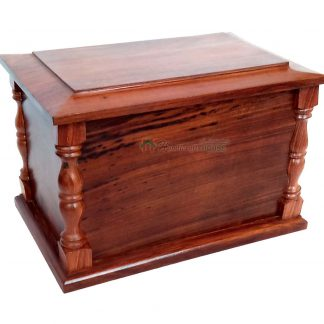 wooden adult urns
