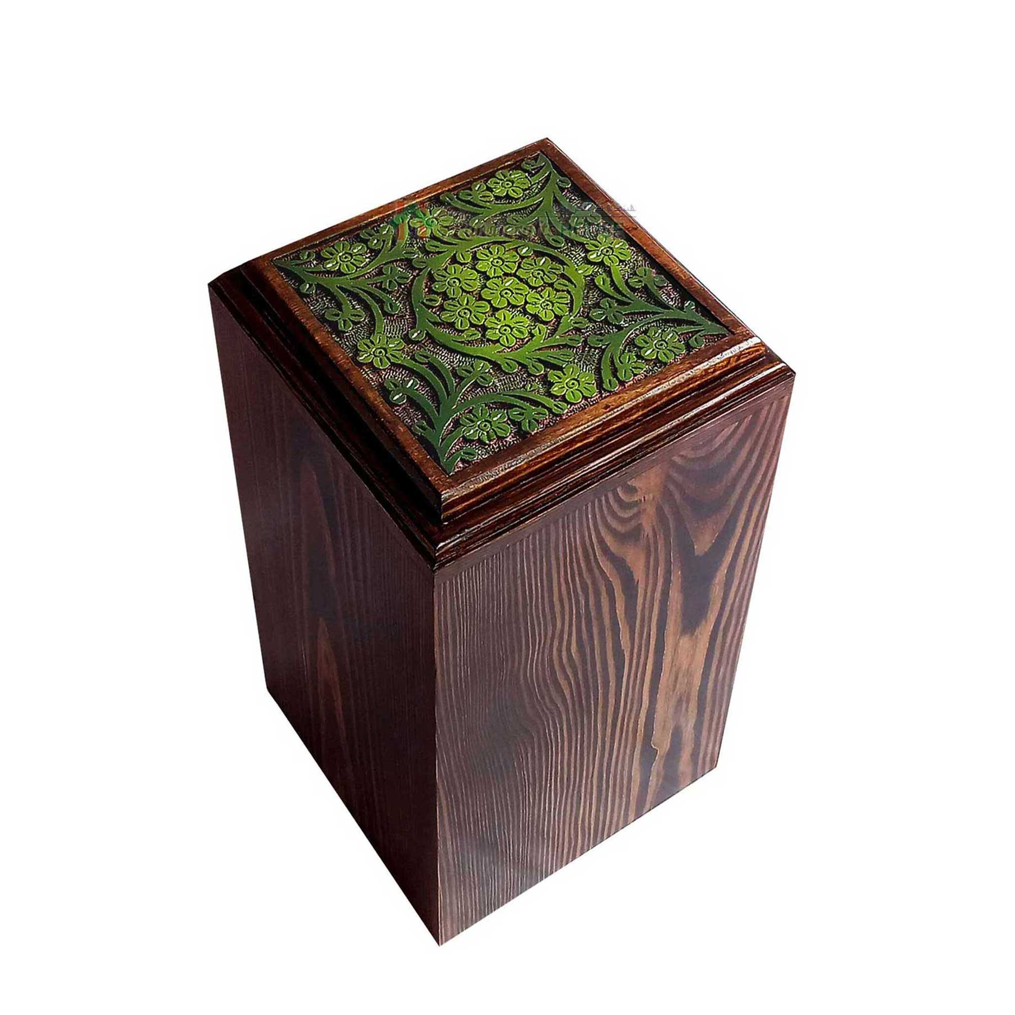Timber Urns For Human Ashes, Wood Funeral Urn, Decorative Boxes, Wooden Tableware, Memorials Casket Box