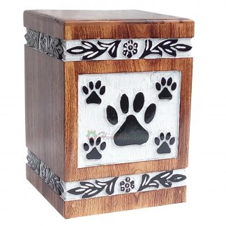 wooden box for pet ashes
