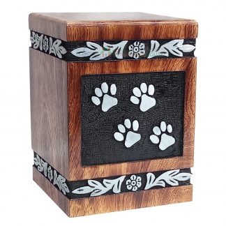 Pet Ashes Cremation Urns, Wooden Urn For Loved one, Memorials Decorative keepsake