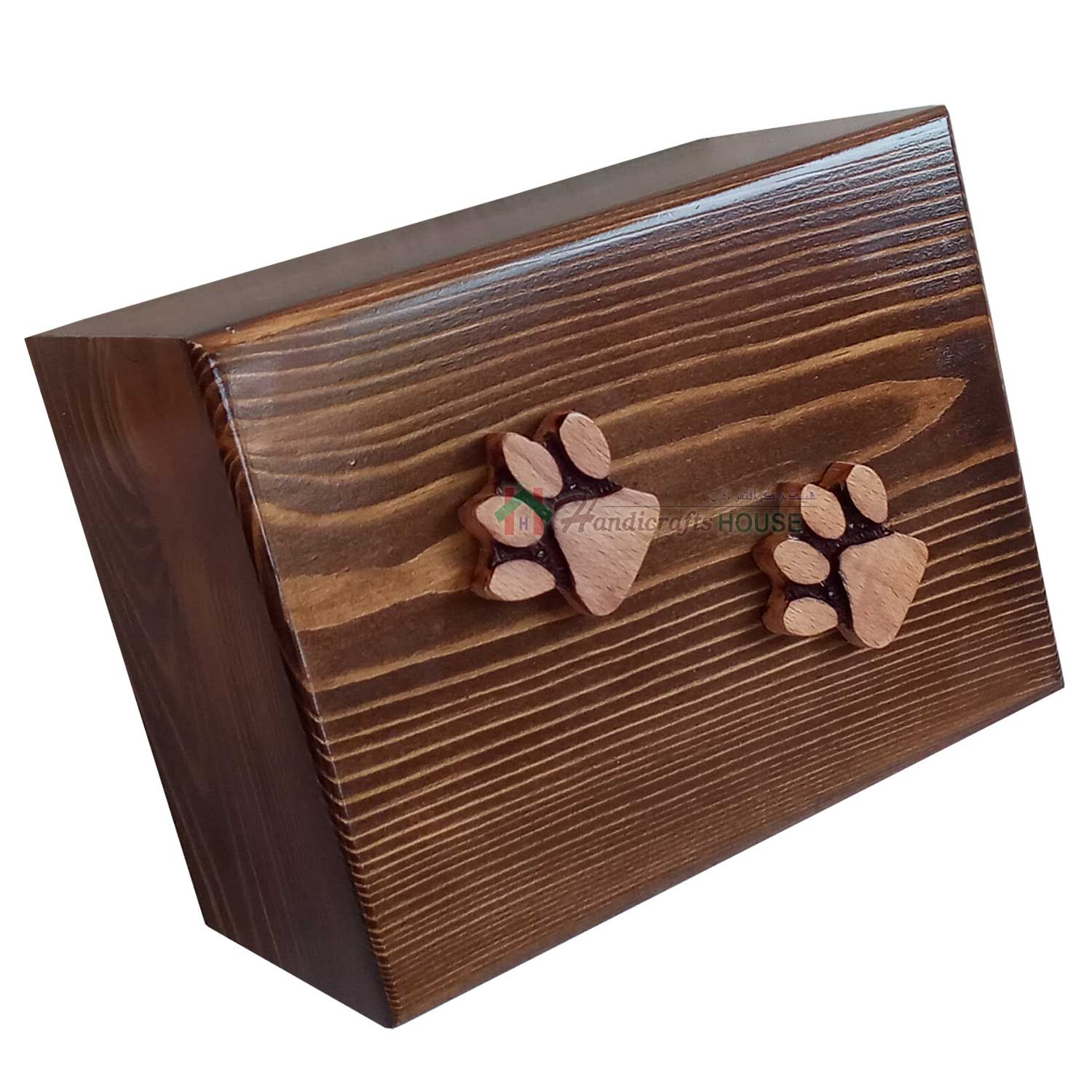 Wooden Urns, Wood Funeral Box For Cats, Cremation Dog Ashes Boxes,  Memorials Pet Urn