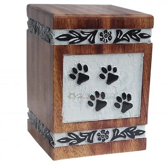 pet urns for ashes, wooden tower urns, wooden stylish urns