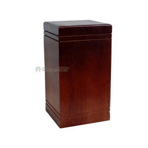 Rosewood Urns for Human or Pet Ashes, Wooden Funeral Cremation Urn - Burial Keepsake – Memorial Wood Box 12 Cu/inc